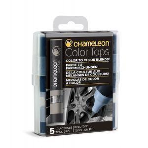 Chameleon Embout Color Tops pour marqueur 5 tons Gris