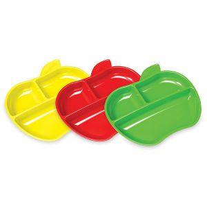 Munchkin 012102 - 3 assiettes Petite pomme