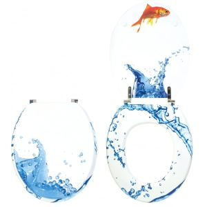 Wirquin 20717963 - Abattant WC Trendy Line Aquarium