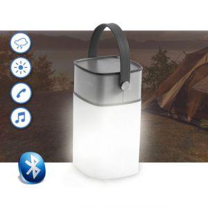Icamp - Enceinte éclairée LED Portable Bluetooth extérieur Camping