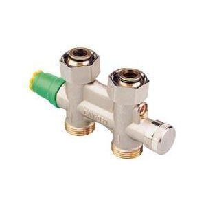 Danfoss 013G4744 - Robinet thermostatique VHS-UN droit coté tube 20x27 male coté radiateur 15x21 femelle