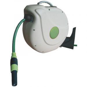 Cap Vert Enrouleur automatique mural - Longueur enrouleur 220 mm - Câble 20 m