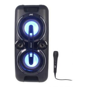 JVC XS-F527B - Enceinte sans fil & dock DJ Radio FM