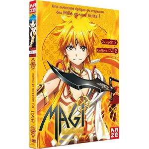 Magi - The Kingdom of Magic - Saison 2 - Box 2/2 Dvd