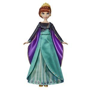 Hasbro La Reine des Neiges 2 : Poupée Anna chantante en tenue de Reine