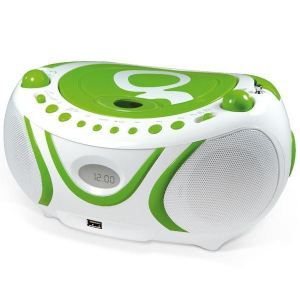 Metronic 477108 - Radio CD-MP3 Gulli avec port USB