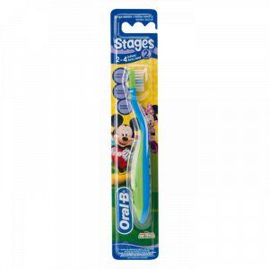 Oral-B Stages 2 - Brosse à dents medium pour enfant 2-4 ans