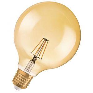 Osram Ampoule LED E27 globe vintage édition 1906 6,5 W équivalent a 51 W blanc chaud dimmable