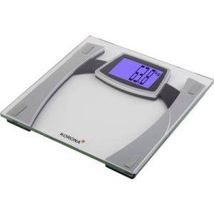 Korona Pèse-personne numérique 73910 (L x l x h) 300 x 300 x 240 mm gris