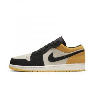 Nike Chaussure Air Jordan 1 Low pour Homme - Crème - Couleur Crème - Taille 49.5