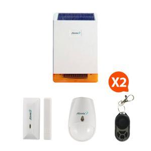 Atlantic's 326 Kit 4 - Mini alarme sans fil