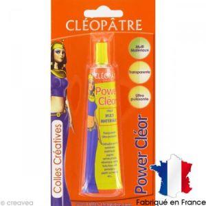 Cleopatre Power Cleor tube de 30 g - colle extra forte séchage rapide