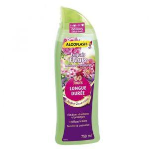 Algoflash Engrais fleurs intérieur & extérieur - Longue durée 60 jours - 750 ml