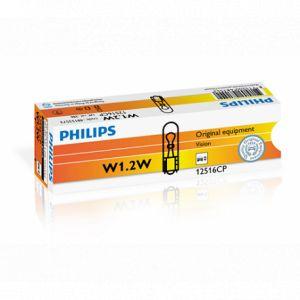 1 ampoule W1.2W 12V Vision - 30% de plus - PHILIPS