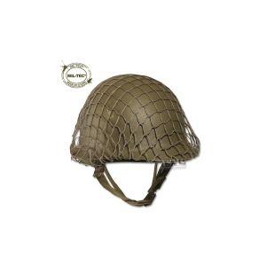 Mil-tec Filet de camouflage pour casque en acier US kaki