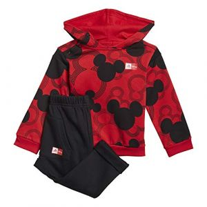 Adidas Survêtement Ind DF Rouge - Taille 3-4 Ans
