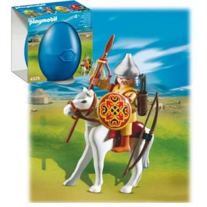 Playmobil 4926 - Guerrier Mongol et Cheval