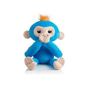 Wow wee Peluche interactive Fingerlings bébé singe Bleu / Boris