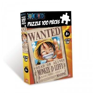 Abysse Corp Wanted Luffy - Puzzle 100 pièces One Piece
