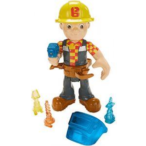 Mattel Figurine Bob le bricoleur et outils