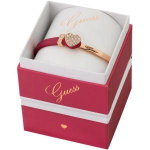 Guess UBS91311 - Bracelet en cuir et métal doré pour femme