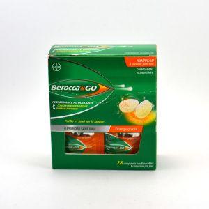 Bayer BeroccanGO Orange givrée - 28 Comprimés