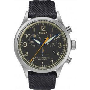 Timex TW2R38200D7 - Montre pour homme avec bracelet en tissu