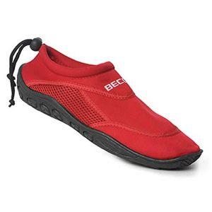 Beco Chaussure aquatique chaussures de bain chaussons d'eau chausson de sport rouge pointure 39