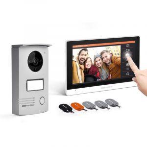 "Scs sentinel Interphone vidéo filaire avec badges Ecran tactile 7"" - VisioDoor 7+ RFID"