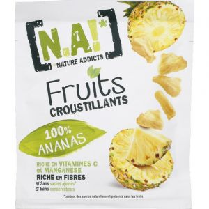 N.a! fruits croustillants 100% ananas