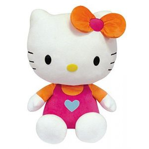 Jemini Peluche Hello Kitty acidulée 50 cm