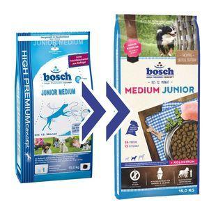 Bosch Tiernahrung Croquettes Medium Junior pour chiot 15 kg