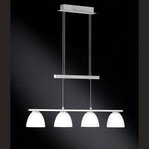 Wofi Suspension AVA LED Nickel mat, 4 lumières