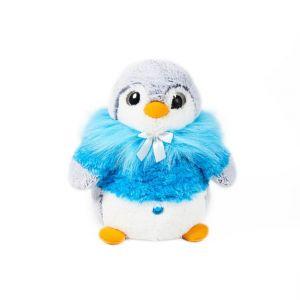 Soft Friends Peluche pingouin bleu 33 cm