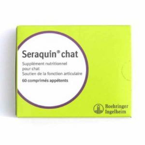 Boehringer Ingelheim Seraquin chat - Supplément nutritionnel pour chat