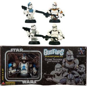 Gentle Giant Pack de 4 Bust-Ups Star Wars Clone Troopers Revenge Sith