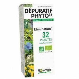 Biotechnie Dépuratif phyto 32 plantes - 300ml