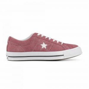 Converse One Star Premium Suede deep bordeaux/white/white