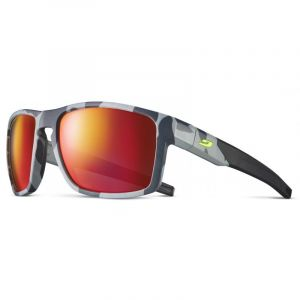 Julbo Stream Polarized 3 Lunettes de soleil Homme, grey/yellow/multilayer red Lunettes