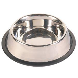 Trixie Écuelle en acier inox anti-dérapante lourde pour chiens 0,9 litre