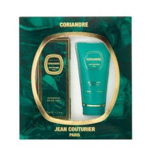 Jean Couturier Coriandre - Coffret eau de toilette et lait pour le corps