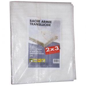 Bâche armée translucide - 2x3 m - Bâche, Filet