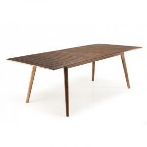 Table à manger extensible Acacia 180 / 240 x 100 cm