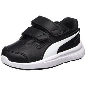 Puma Escaper SL V Inf, Sneakers Basses mixte bébé, Noir Black-White, 27 EU