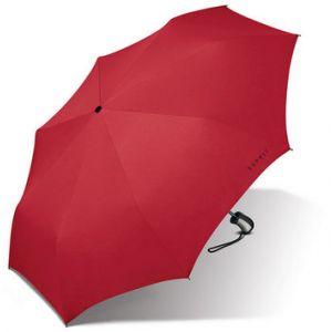 Esprit Parapluie pliant automatique uni Rouge