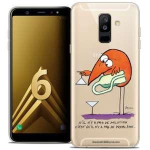 CaseInk Coque Gel Samsung Galaxy A6 PLUS 2018 (6 ) Extra Fine Les Shadoks® - Pas De Problème