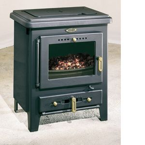 Godin Poêle à bois/charbon ECO 3760 ANTHRACITE Puissance 7.5 kw