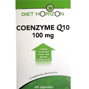 Diet Horizon Coenzyme Q10 forme huileuse 1000mg/caps 60 capsules