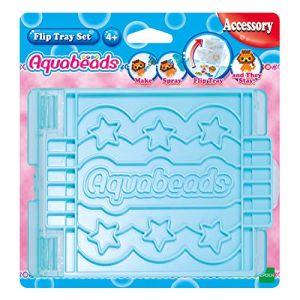 Aquabeads Flip Tray Activitée créative, 31331, Multicolore, Taille Unique