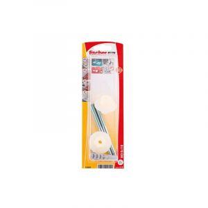Fischer Cheville wd 8x110 lavabos/urinoirs blister de 2 - Categorie fantome